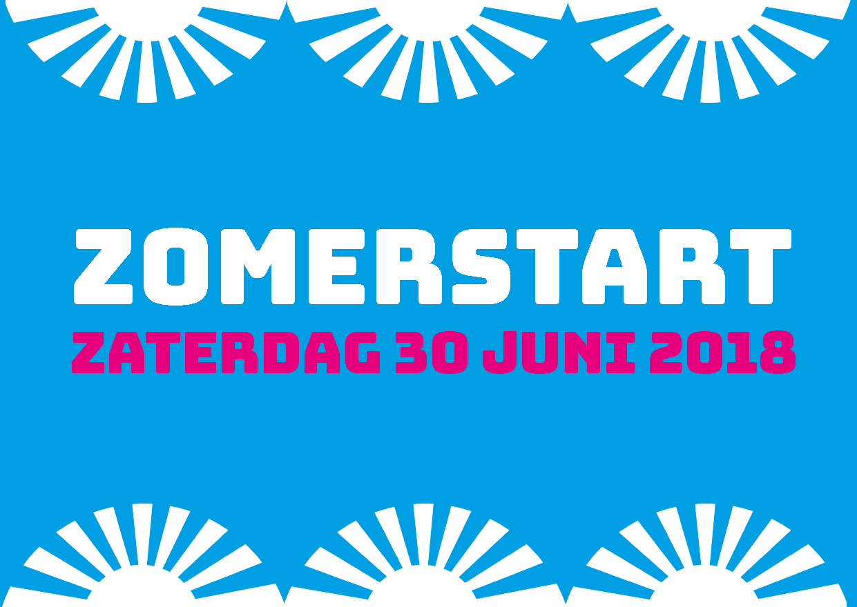 Sticker Zomerstart 2018 A7