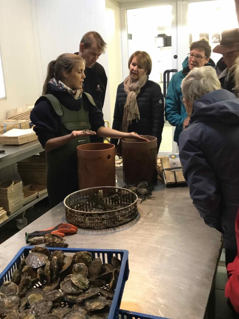 Foto impressie bezoek oesterput Oostende_1